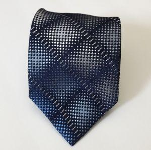 Calvin Klein Mens 100% Silk Necktie